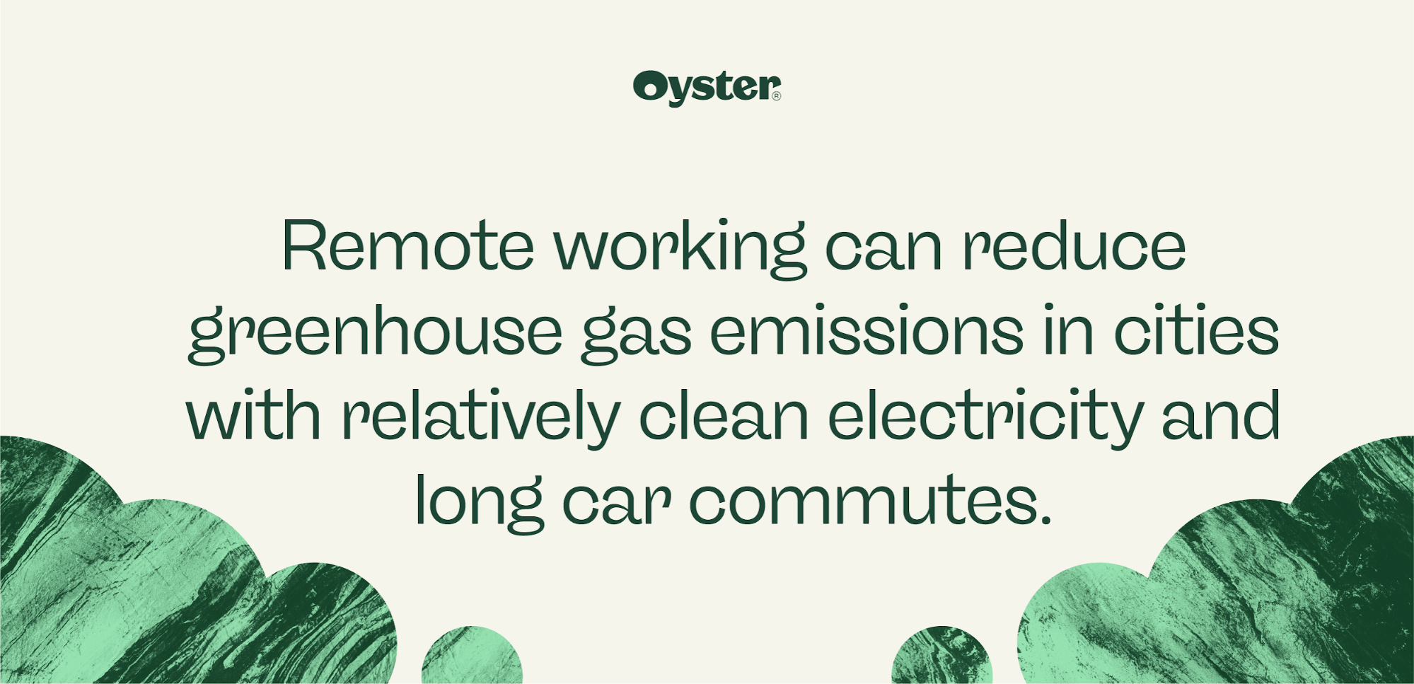 Remote work can reduce greenhouse gas emissions graphics