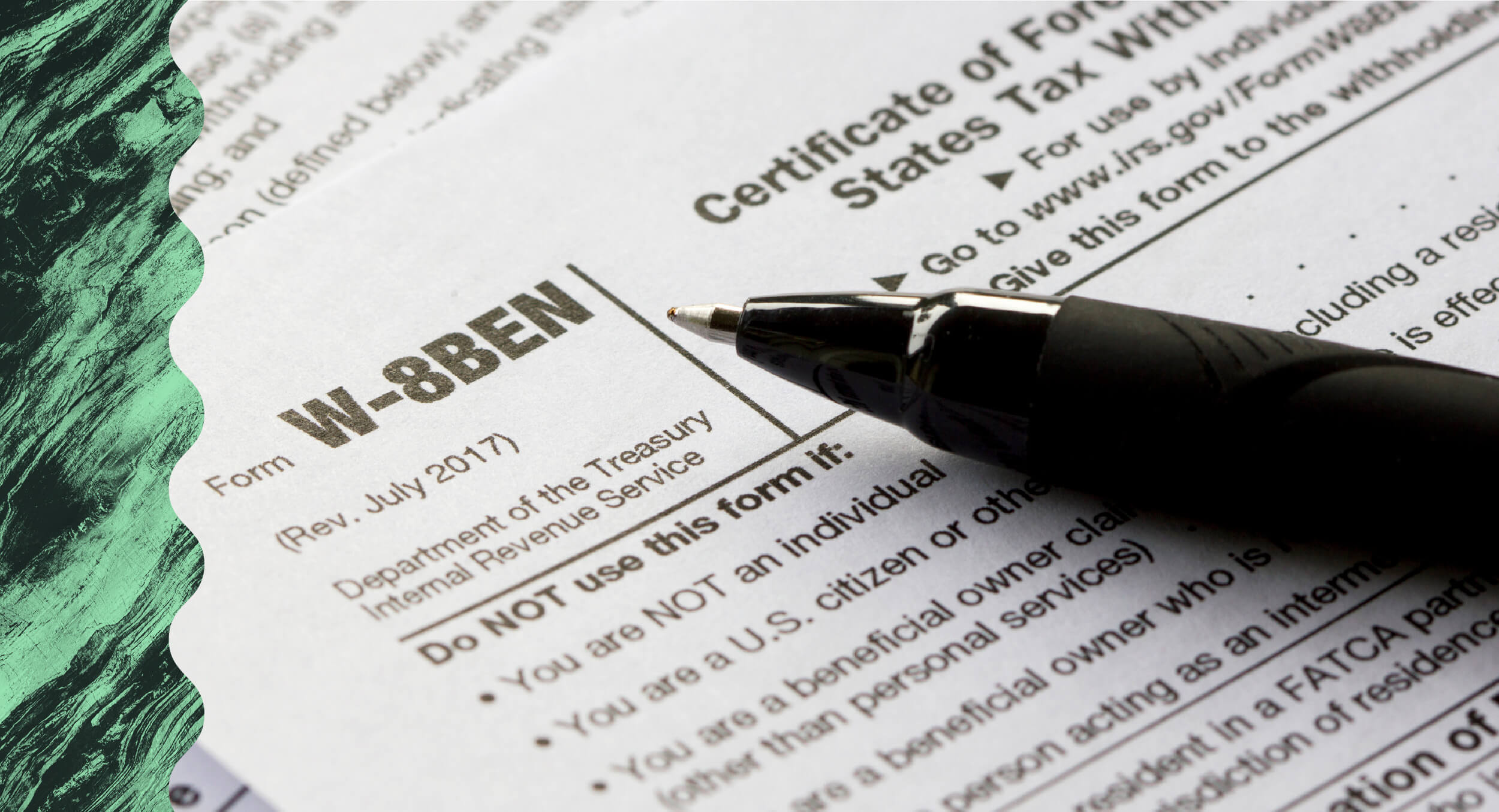 What is IRS Form W-8BEN?