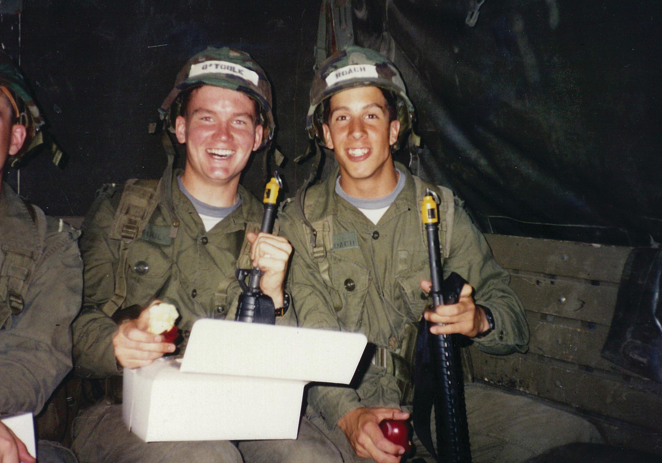 Erin O'Toole's military service.