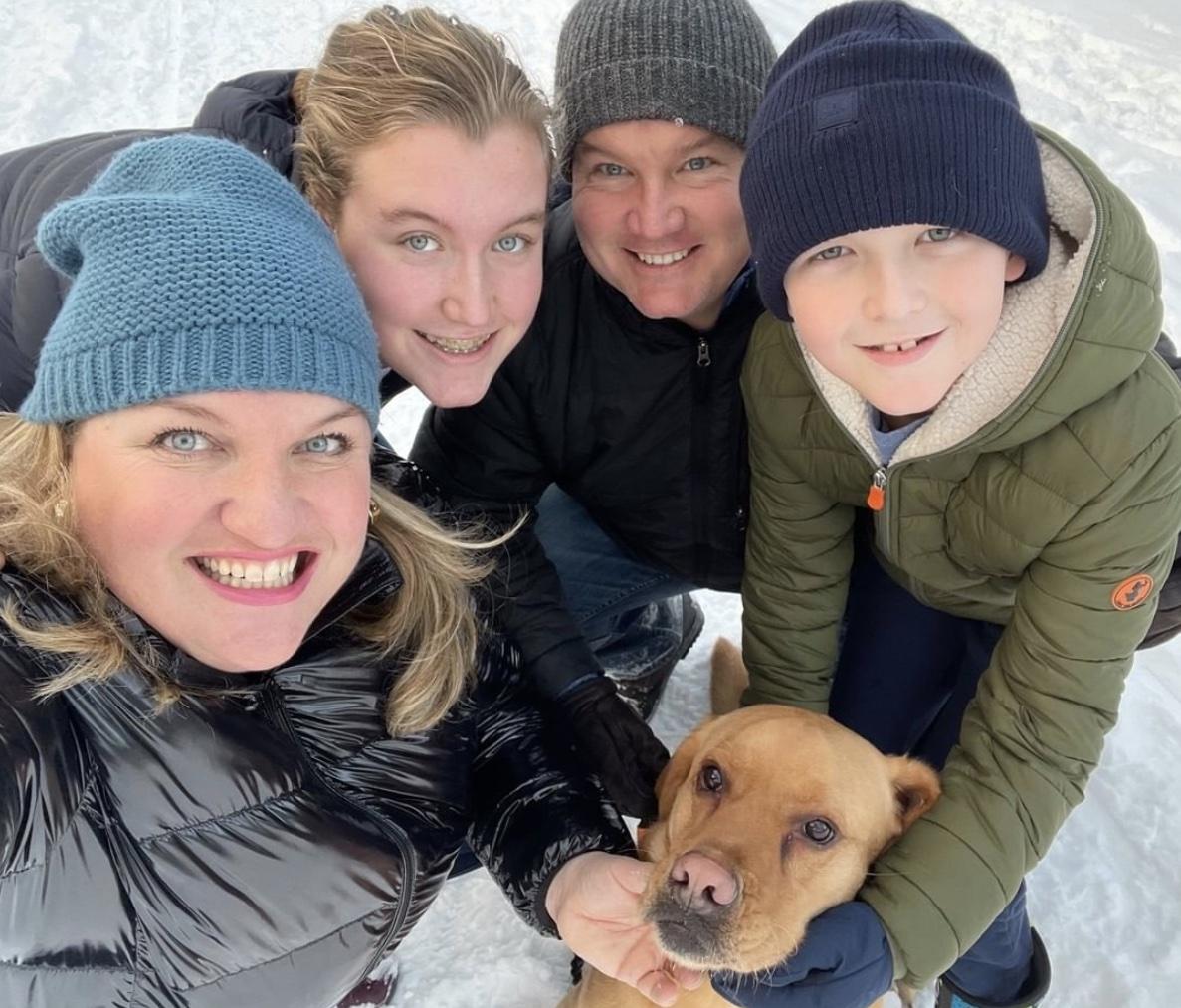 Erin O'Toole's family.