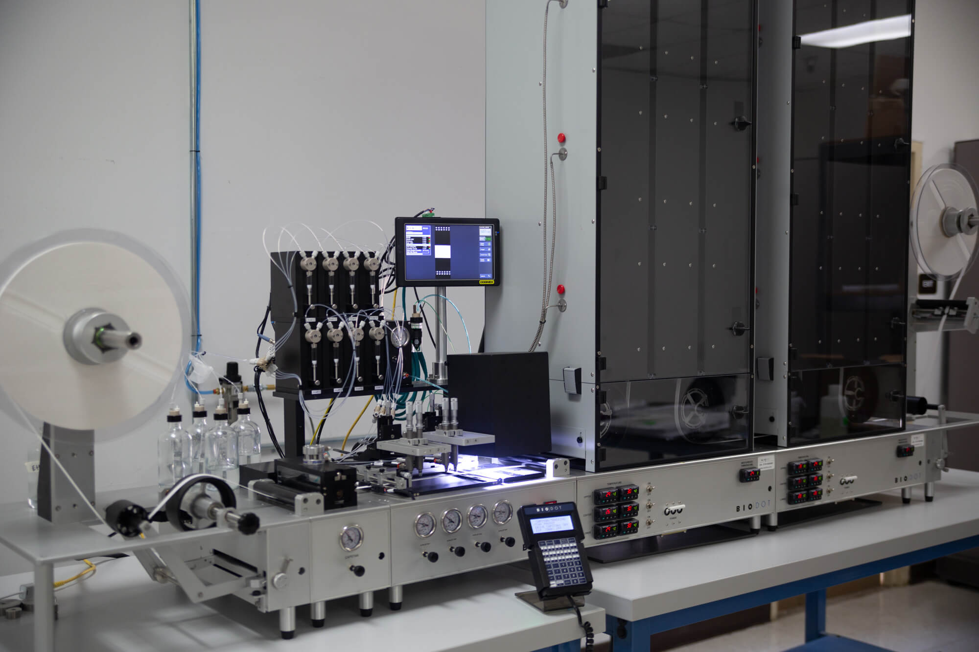 Dispensing section of RR120