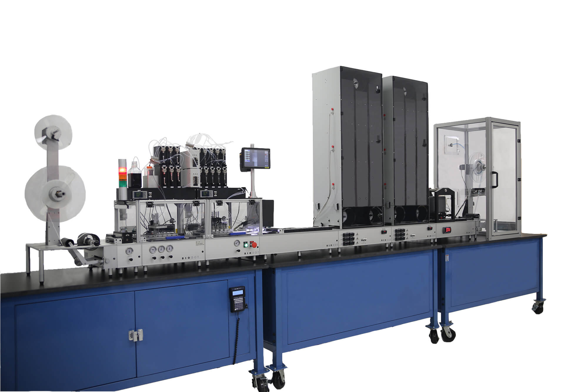 RR120 Customized with 2 Dispense Modules