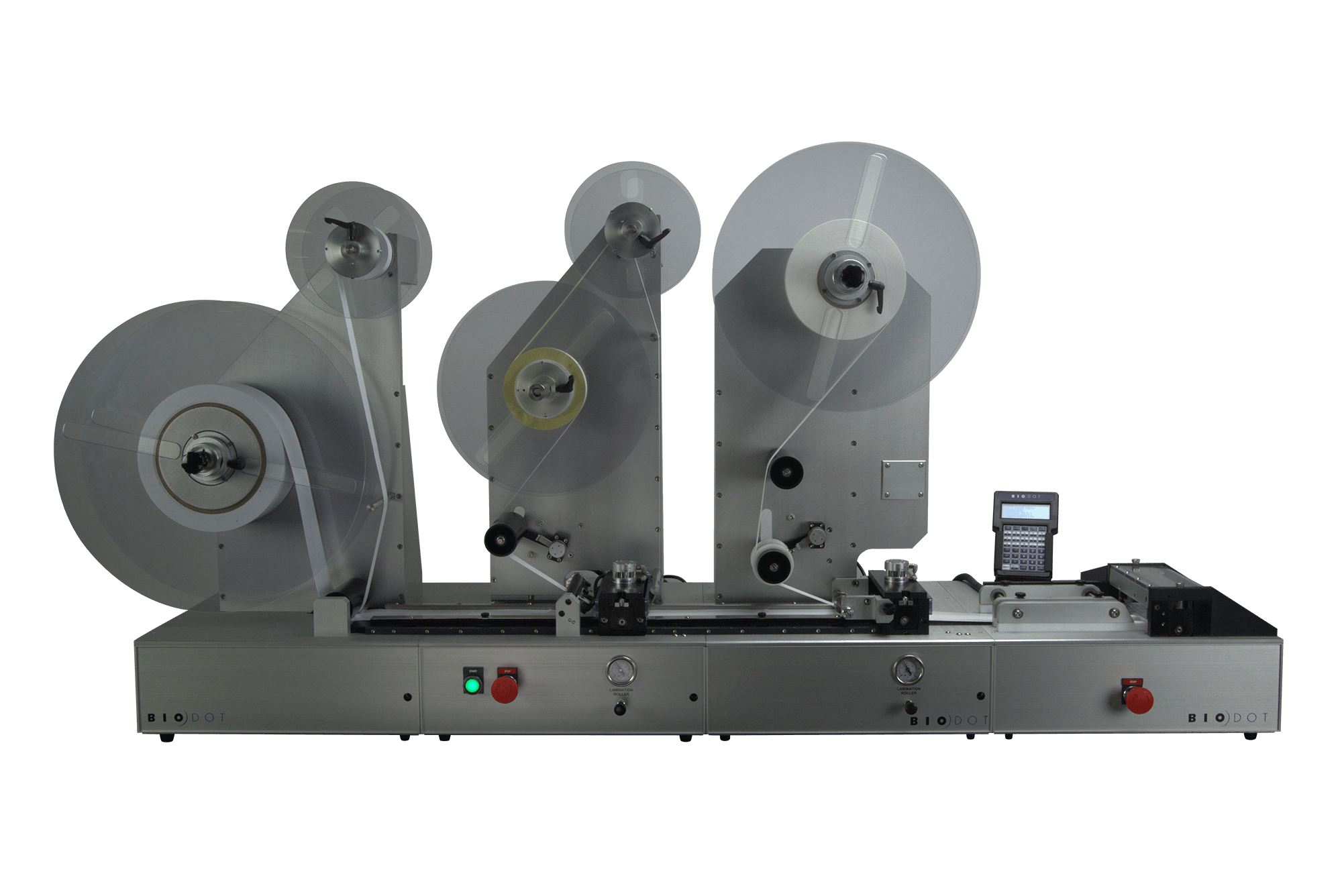 LM9000 laminator for lateral flow test lamination