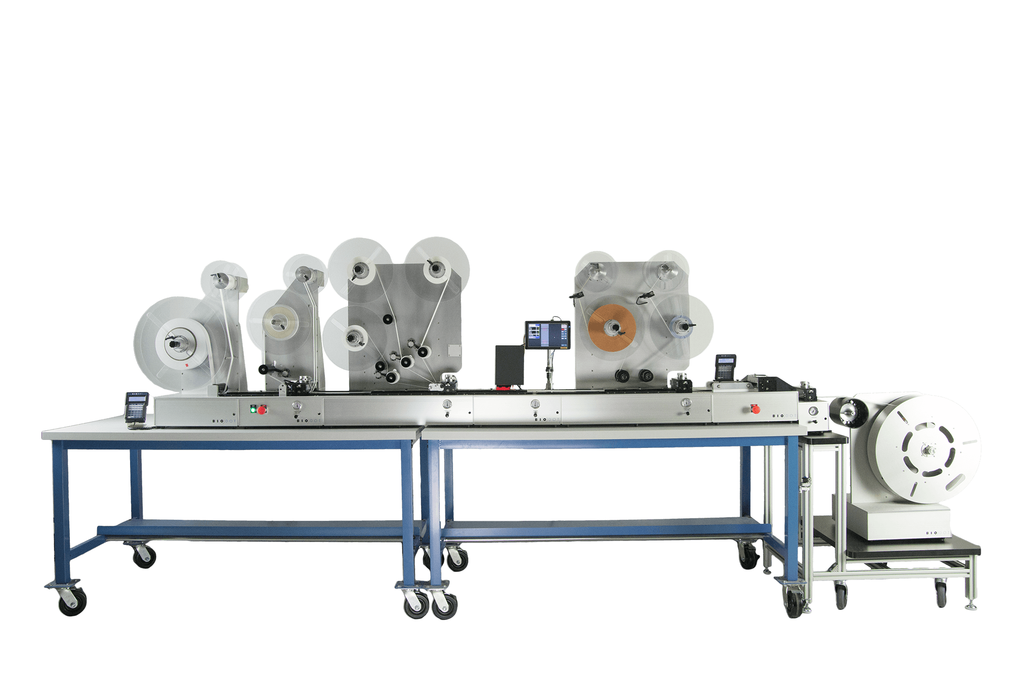 LM9000 laminator for lateral flow test manufacturing