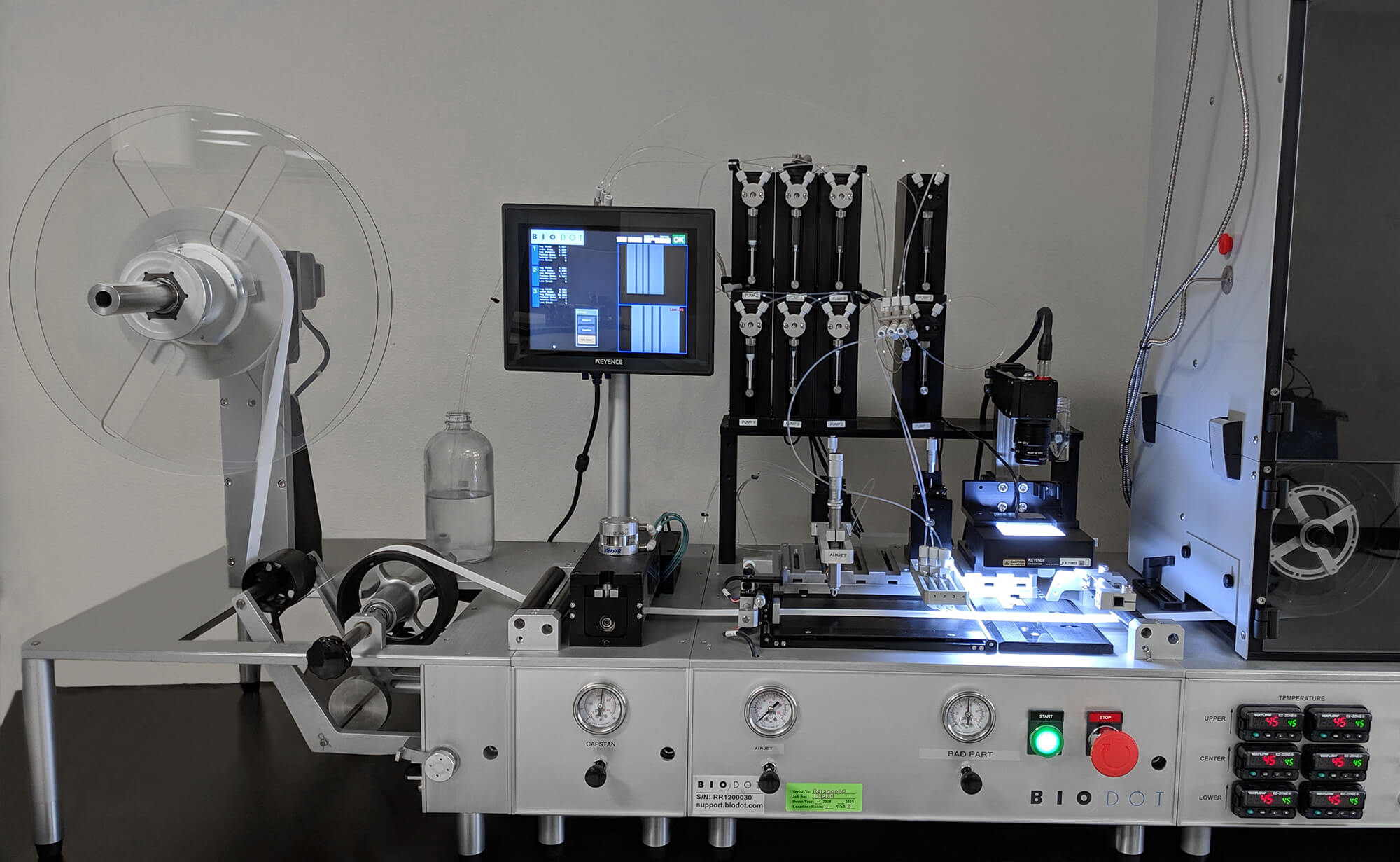 RR120 Dispense Module with Vision Inspection