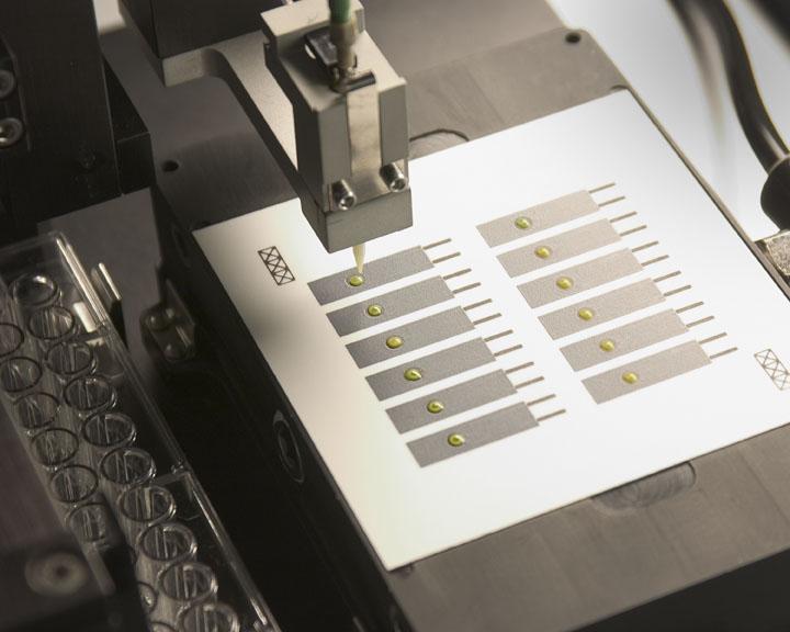 BioJet Dispensing for Biosensors