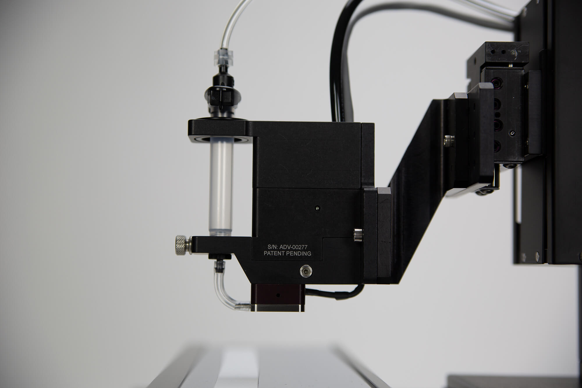 PolyJet Dispensing Technology Side View
