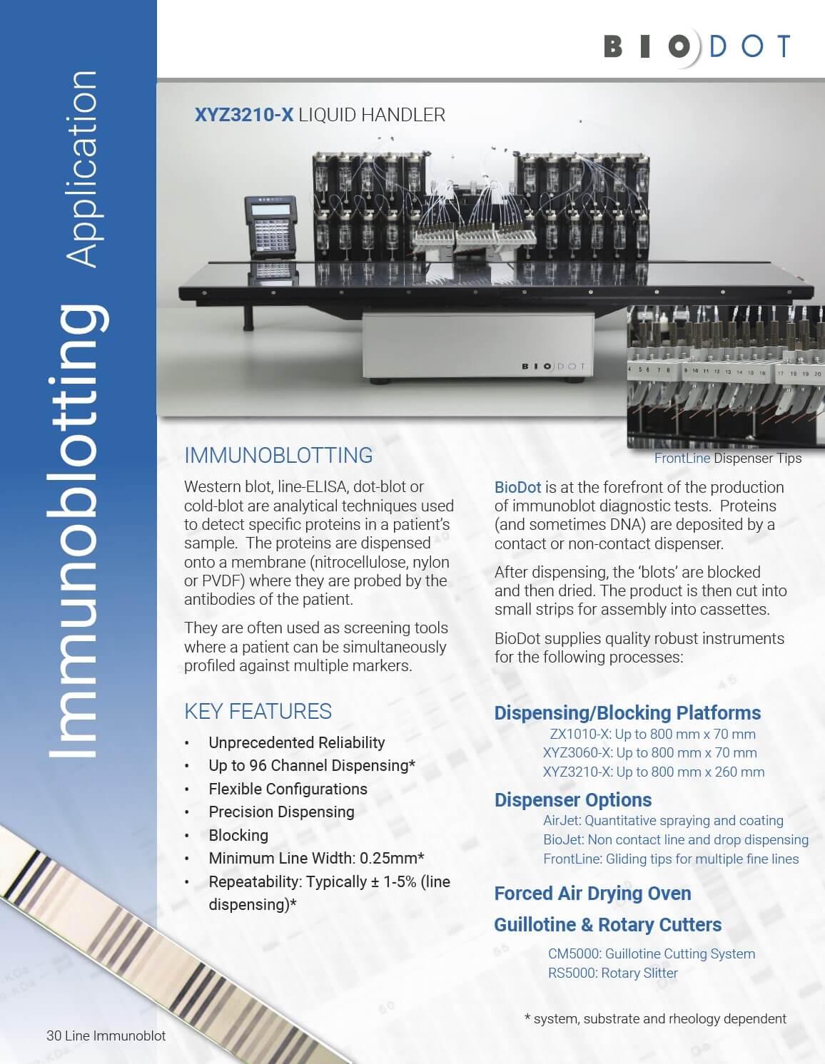 Immunoblot Application Note