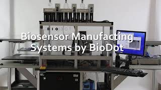 BioDot Biosensor Manufacturing with Pick n Place Loading