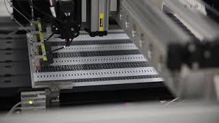 Biosensor Production System Fiducial Find, De skew and dispense