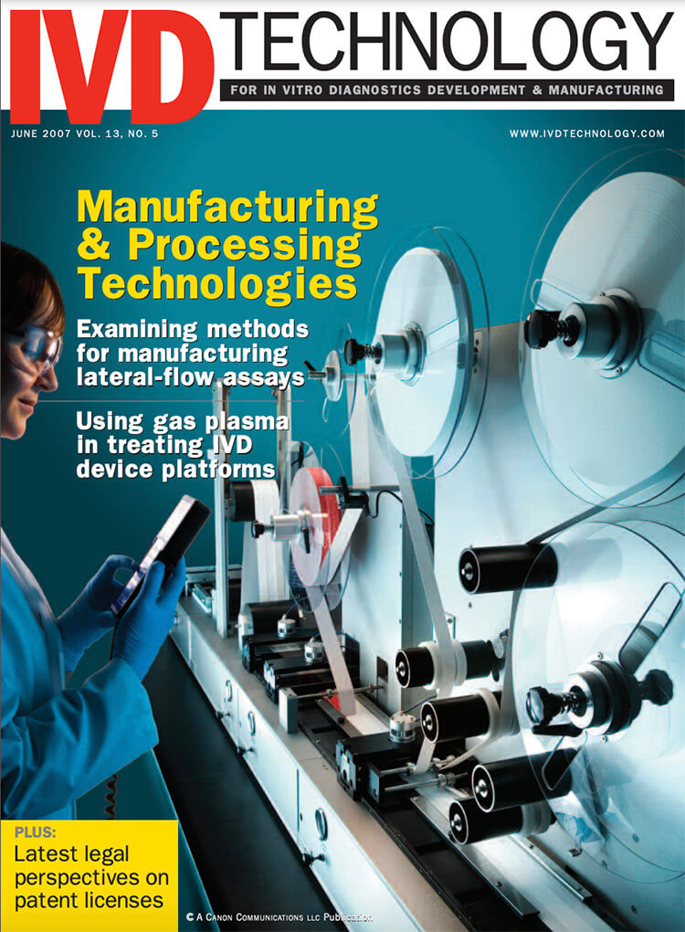 In Line Automation Article IVD Technology 2007