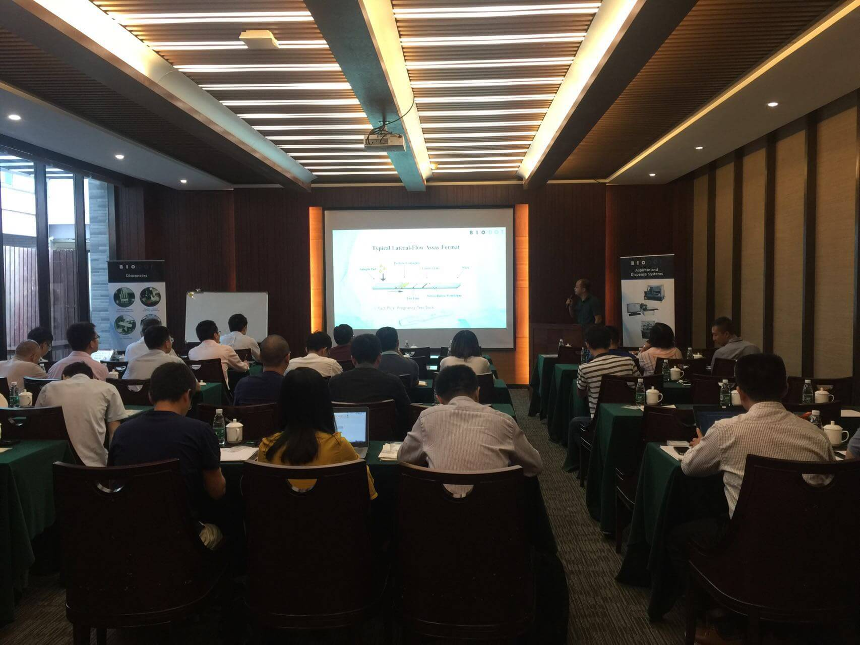 Solutions for Microfluidic Chip and Biosensor Applications from R&D to Manufacture, GuiLin 2017