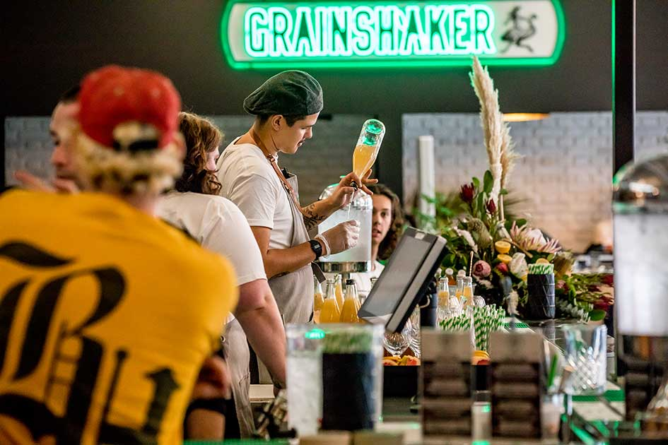 Introducing Melbourne's own 'grainshaker local distillery'
