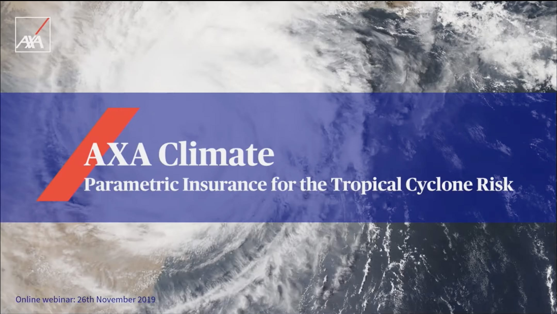 Parametric insurance for the tropical cyclone risk