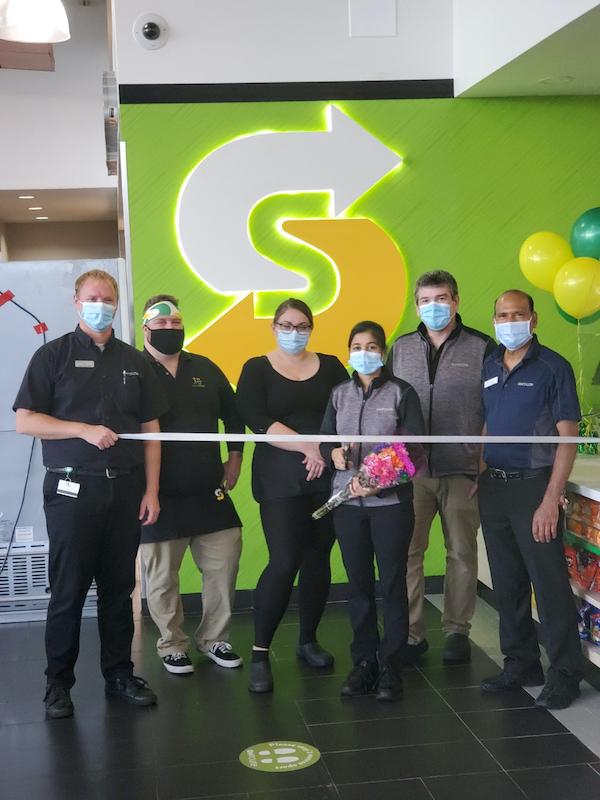 Subway ribbon-cutting ceremony