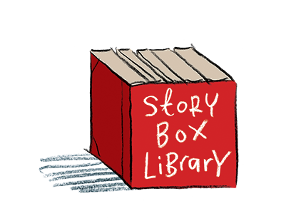 story box library button