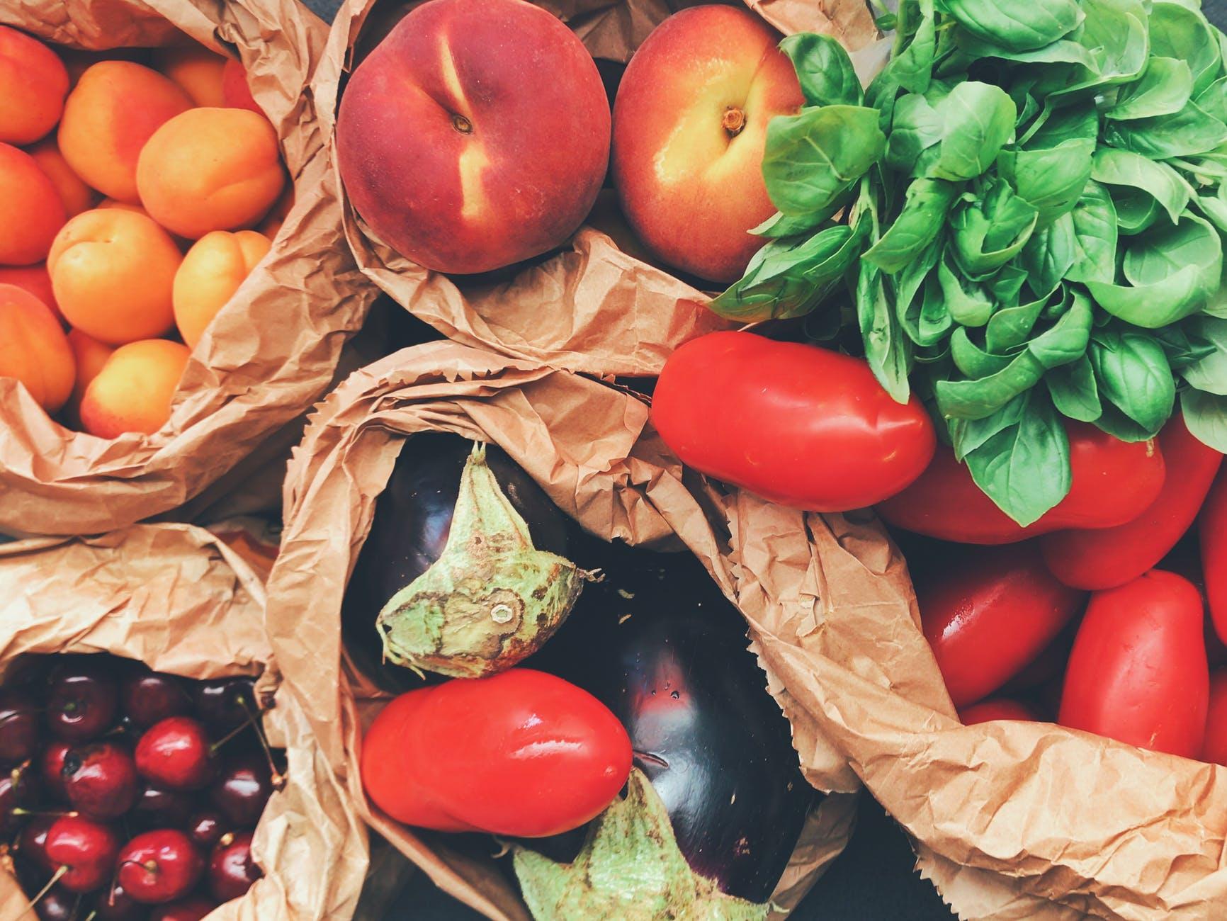 Paniers de légumes: soutenez l'économie locale!