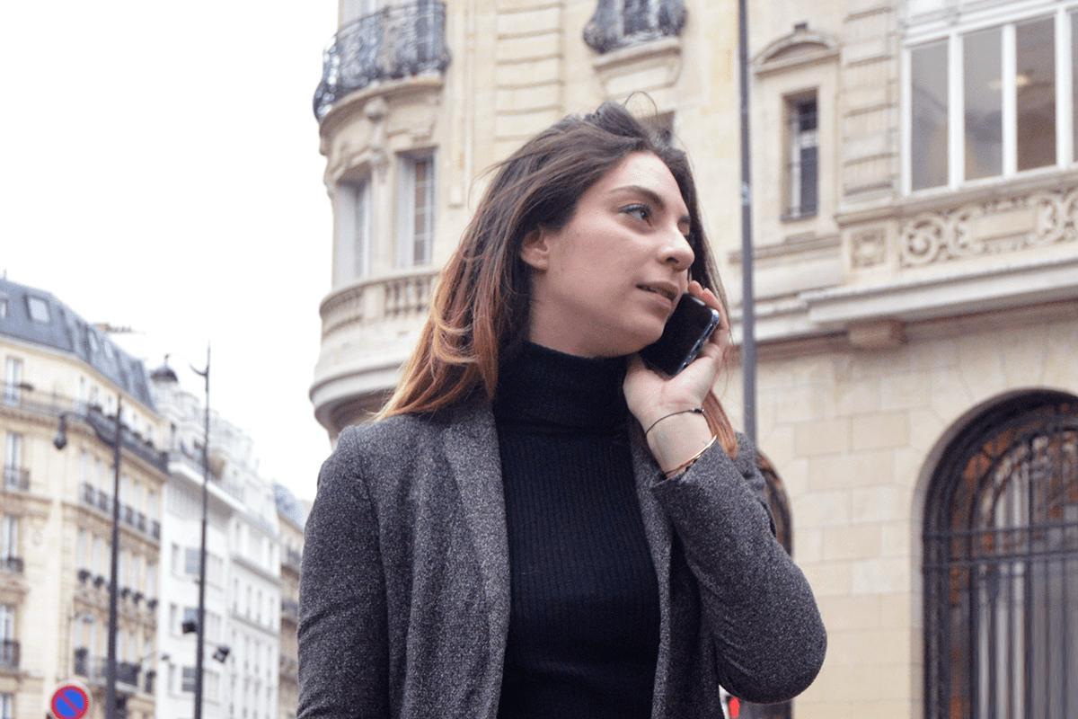 Safia, agent chez Liberkeys