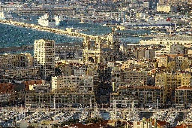 Vue sur ... Marseille et sa fameuse Canebière