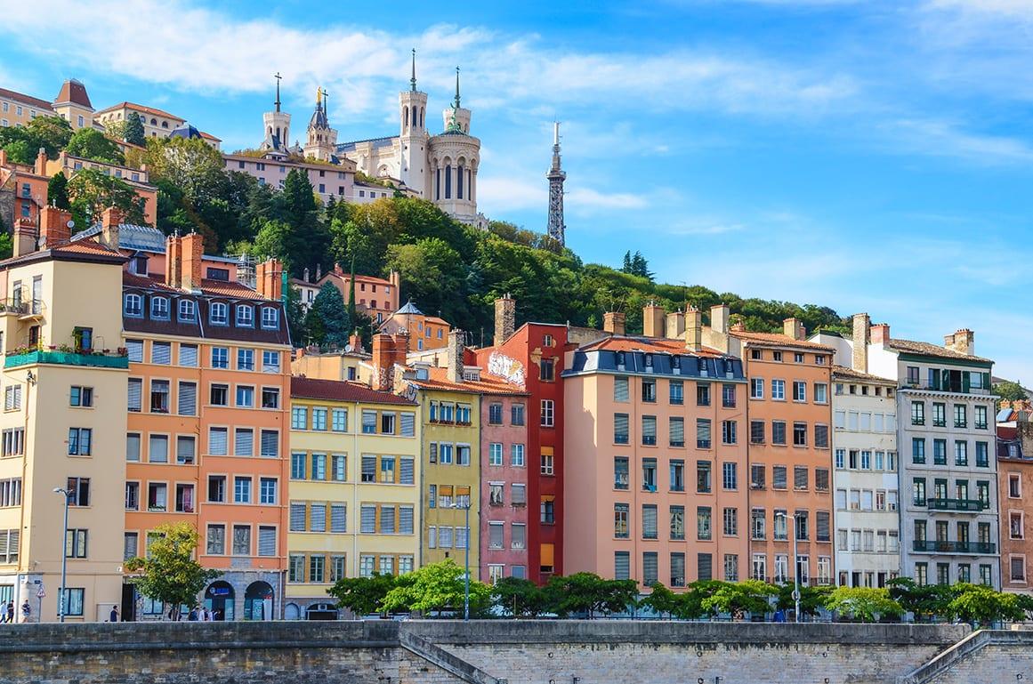Vue sur... le Vieux Lyon