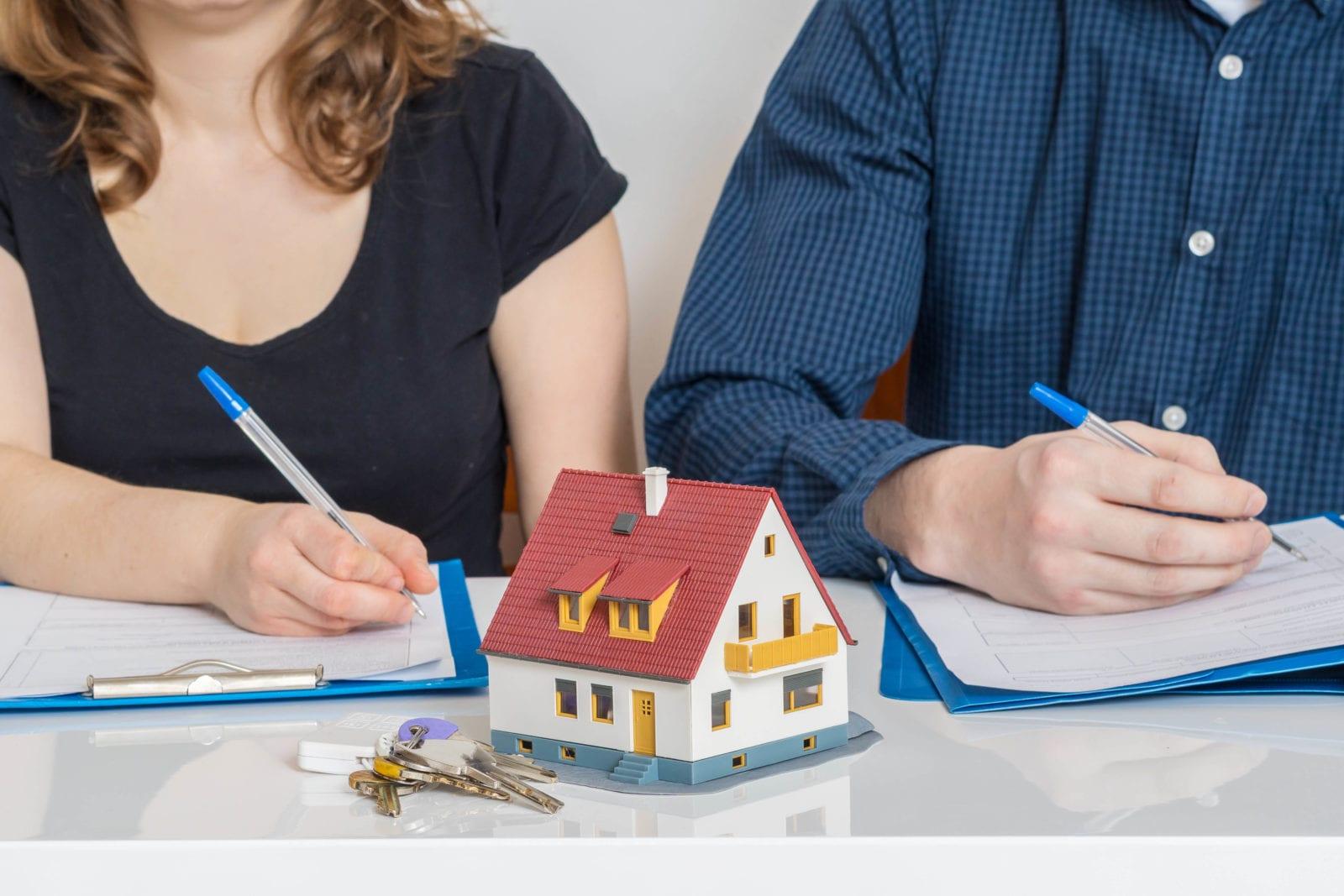 Divorce : le partage des biens immobiliers