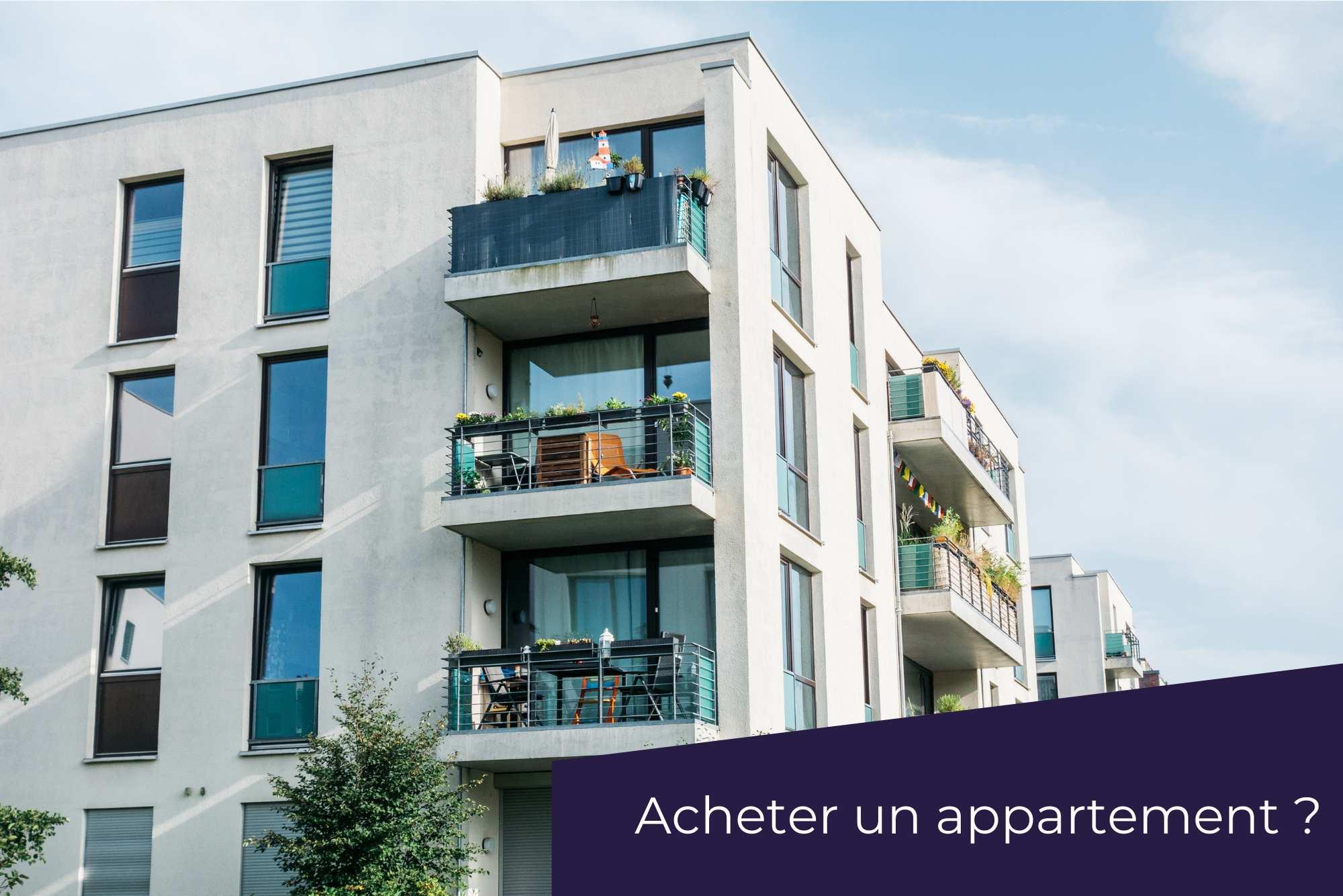 Quelles questions se poser avant d'acheter un appartement ?