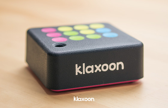 Klaxoon, the box which makes training dynamic
