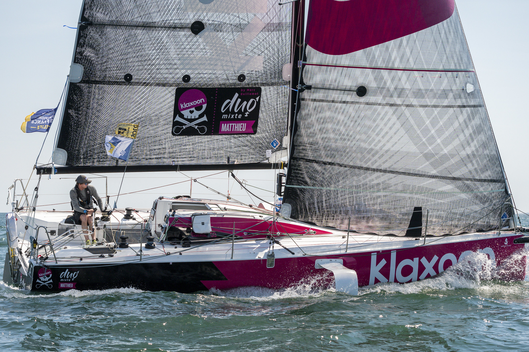 Matthieu Damerval (Klaxoon M) : « Une course magique mais si dure »