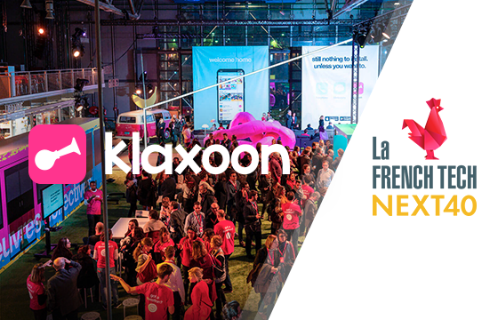 Klaxoon selected for the Next40, the CAC 40 for scaleups