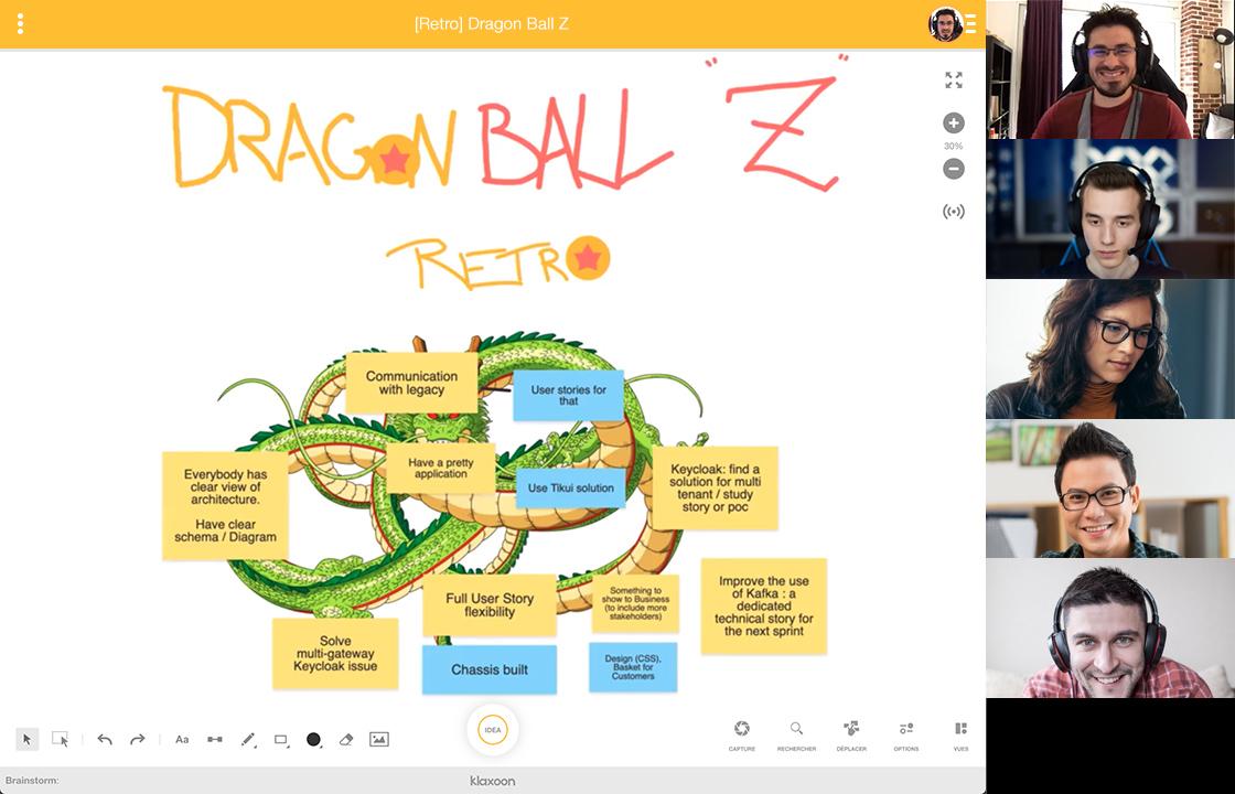#Scrum. How to facilitate online sprint retrospectives using Klaxoon