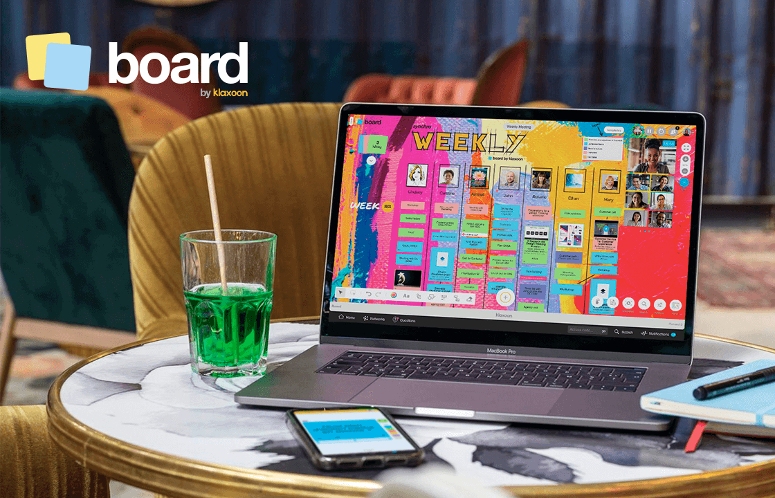 Board, the next-generation visual tool that promotes participation for an inclusive work model
