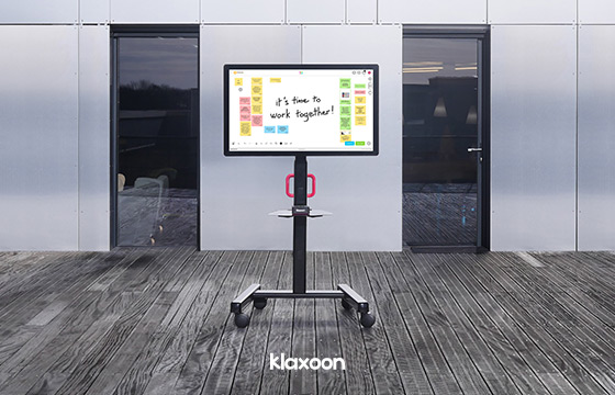 """Klaxoon teams up with tech giants to launch the """"MeetingBoard"""""""