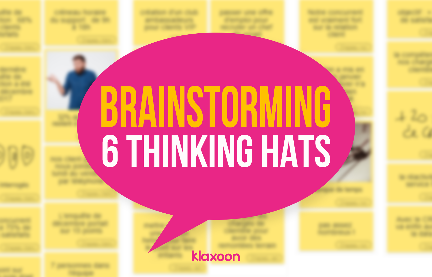 Brainstorming: Test out the Six Thinking Hats Method!