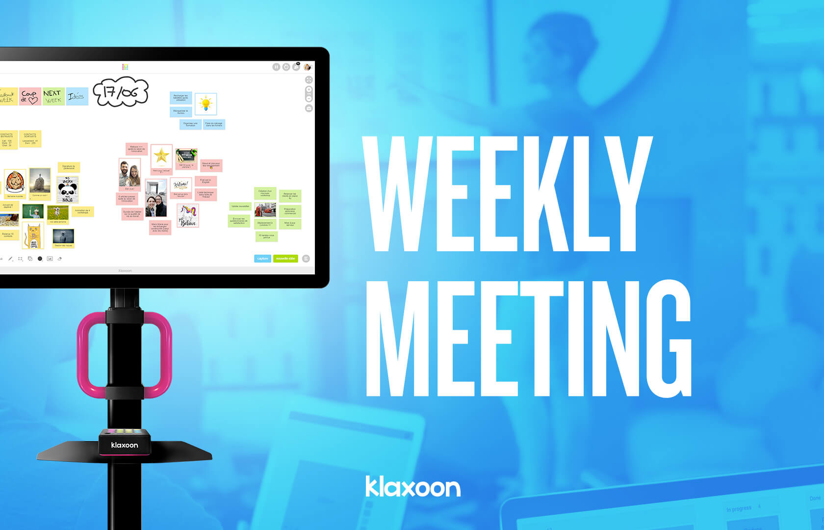How can you make your weekly team meetings more effective?