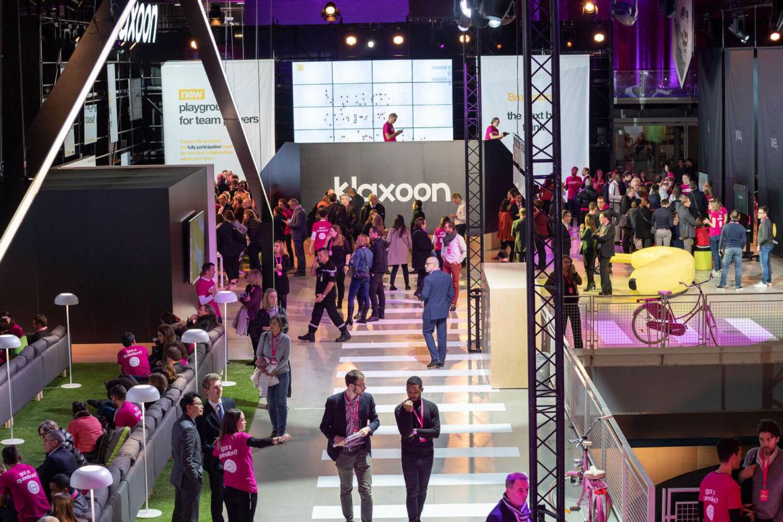 Klaxoon au Centre Pompidou