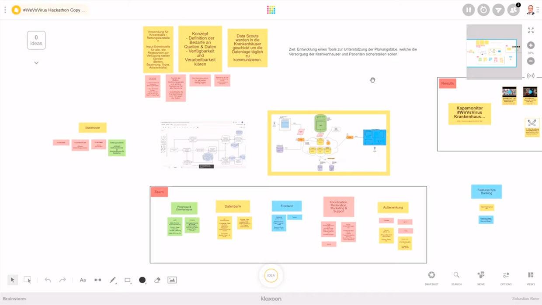Exemple Template Hackathon |Klaxoon
