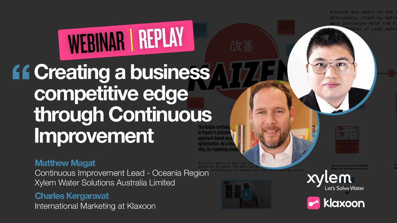 Creating a business competitive edge through Continuous Improvement