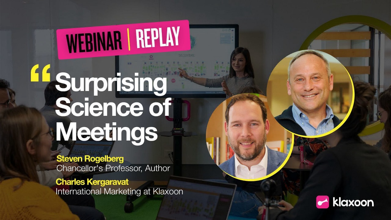 """Discover """"The Surprising Science of Meetings"""""""