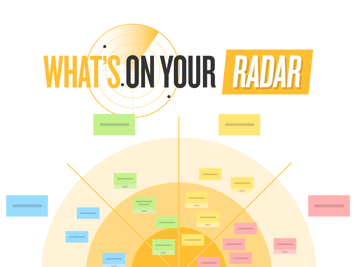Template Design thinking, What's on your radar