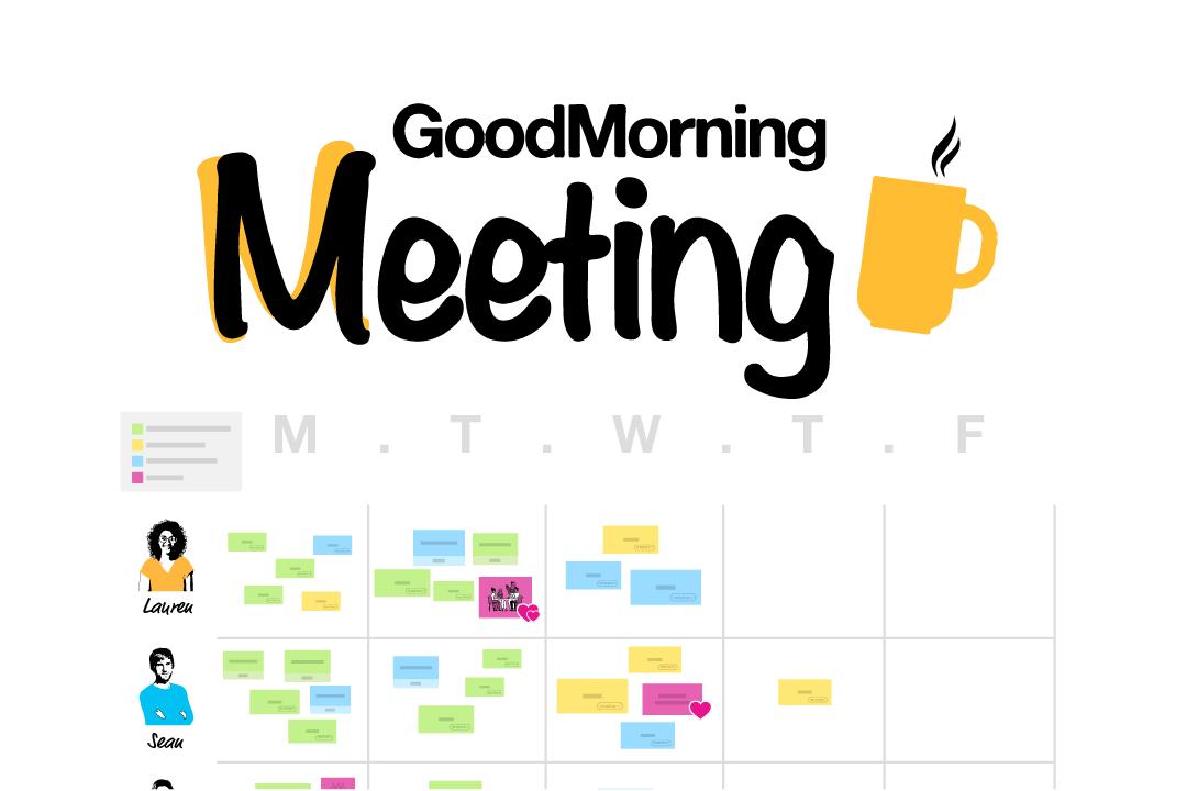 GoodMorning Meeting Template