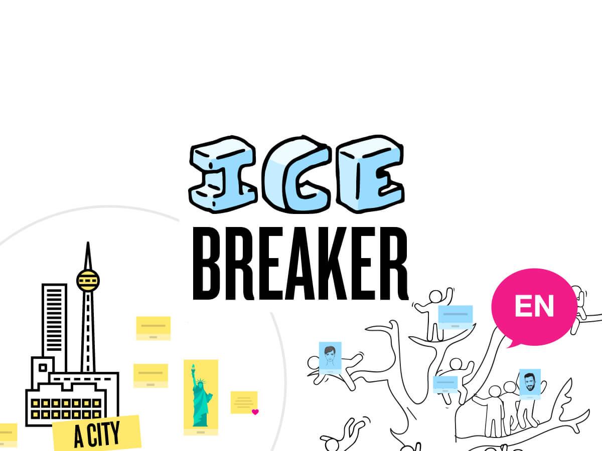 Ice Breaker Template on Klaxoon