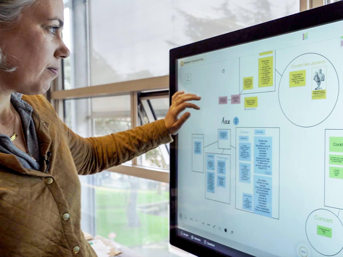project visuel management  online