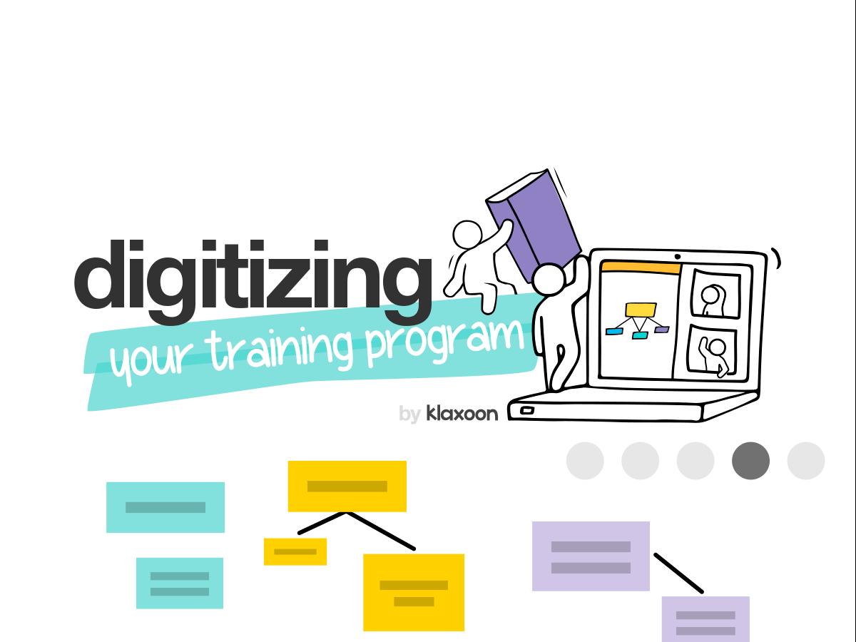 Digitizing a training template