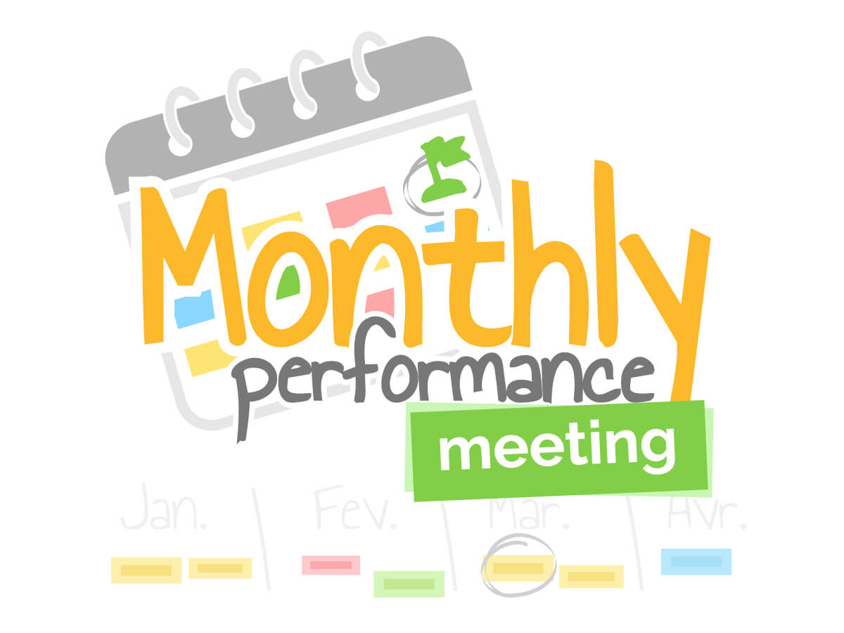 Monthly performance meeting template