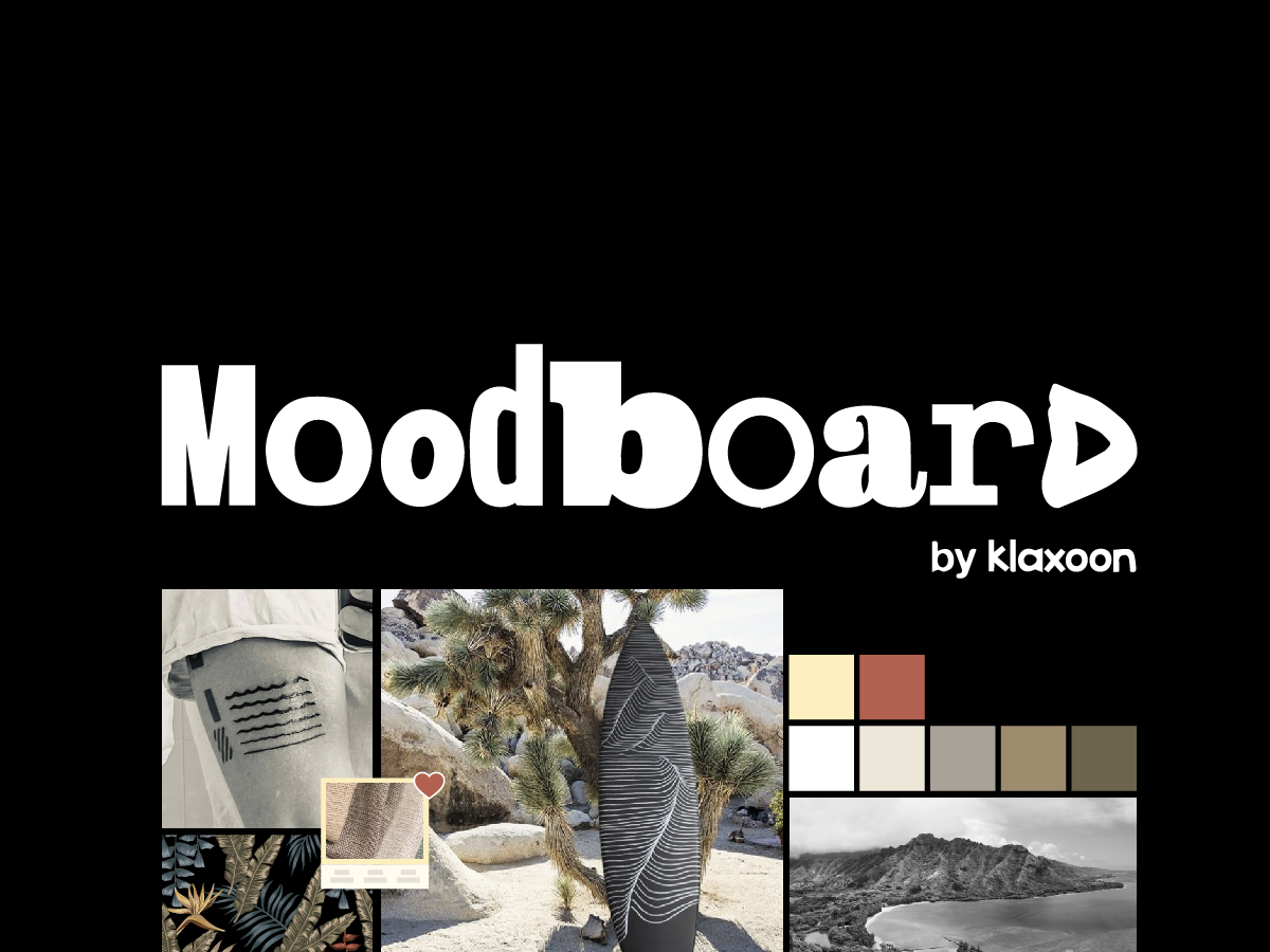 Template moodboard