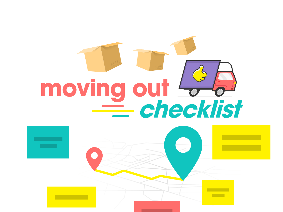 Moving out checklist Klaxoon