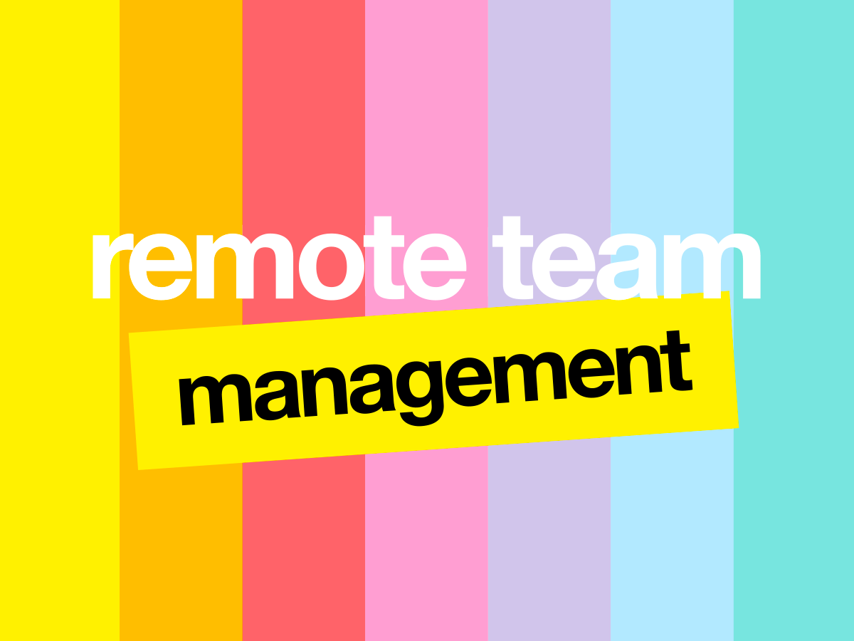 remote team management online 10 activities