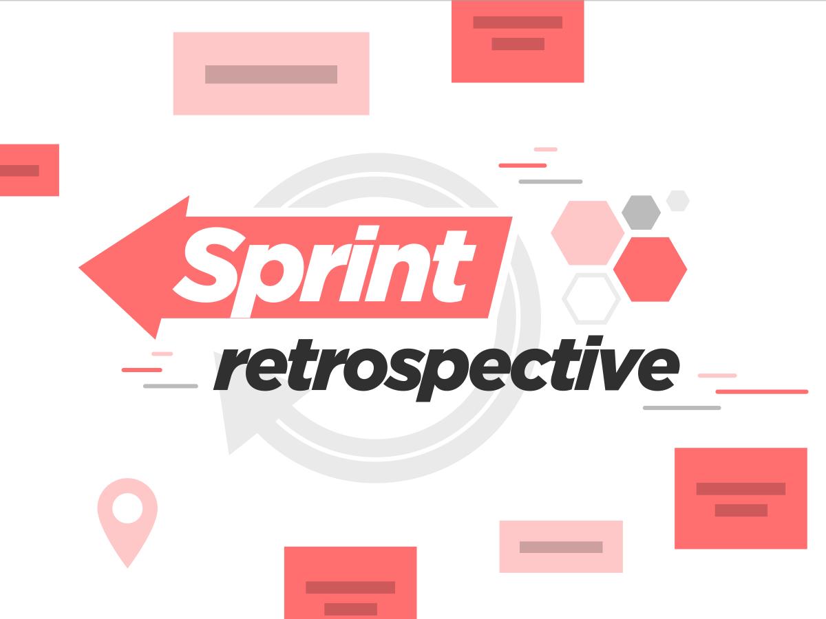 Sprint retrospective template Klaxoon