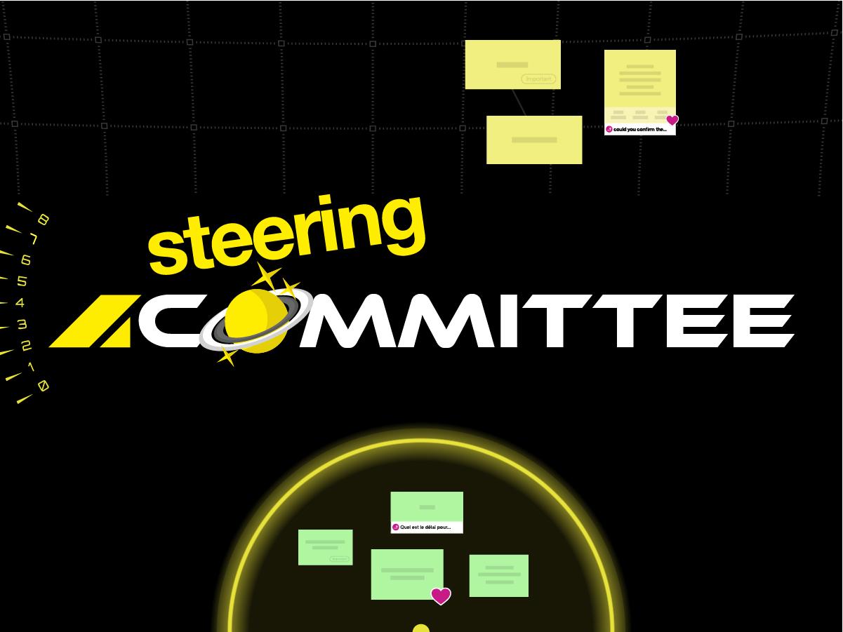 steering committee template
