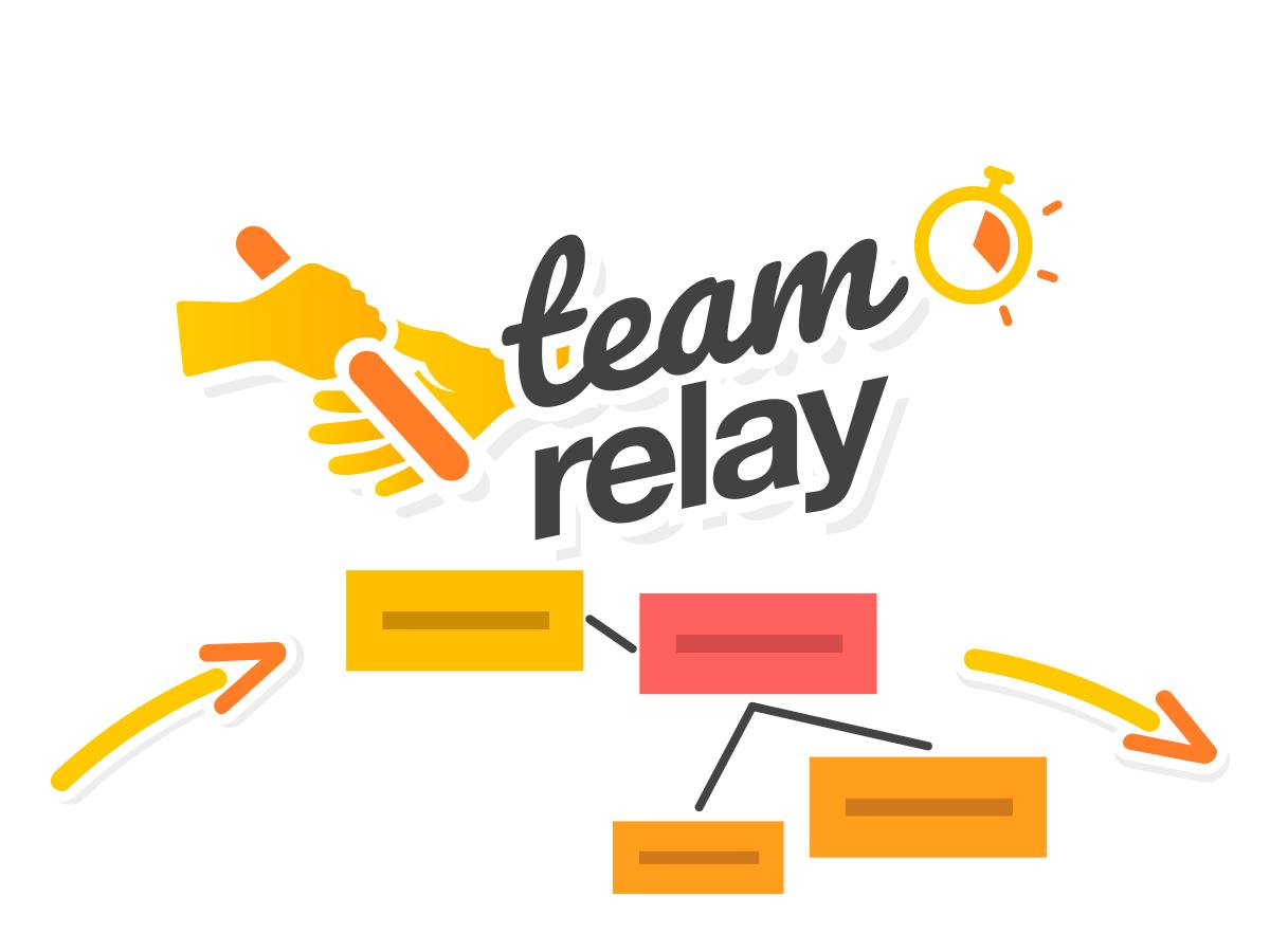 team relay template